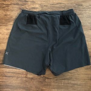 "Men's Lululemon Athletica Running Shorts M 6"""